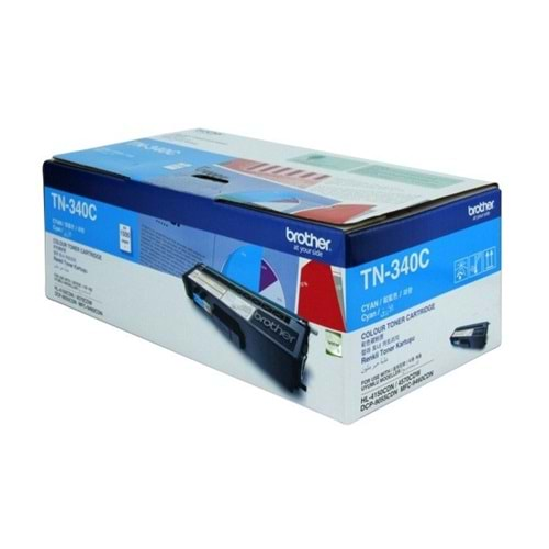 BROTHER TN-340C HL-4150/4570/9460/9970 MAVİ TONER ORJ. 1.5K